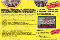 Teacher Training Yoga Kids di CICURUG,SUKABUMI