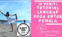 Video Yoga untuk pemula – 15 menit Cara menurunkan berat badan!
