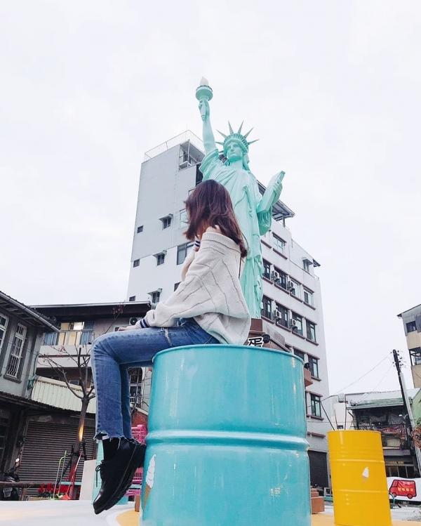 不用去紐約!臺南就有「自由女神」Landmark ICE CREAM冰淇淋店,兩年來幾乎每兩天,絕對必拍!超熱門外國風打卡景點! - keke帶我去 ...