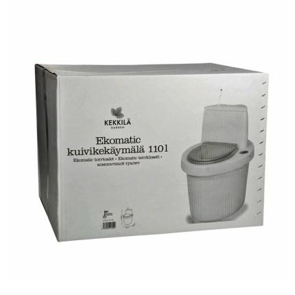 Торфяной туалет Кеккила Экоматик Гранит 110/ Ekomatic Granite 110