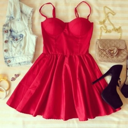 72434-Red-Summer-Mini-Dress-With-Accessories