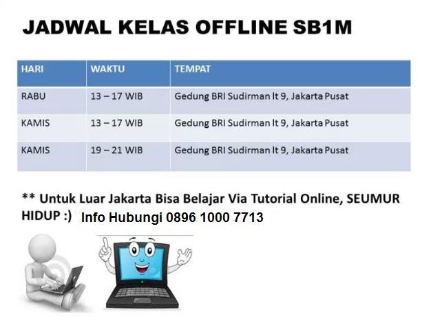 jadwal kelas sb1m