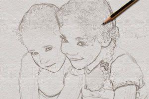 Merubah Foto Menjadi Sket Pensil 17
