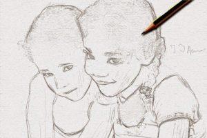 Merubah Foto Menjadi Sket Pensil 19