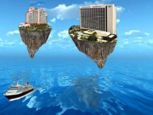FLOATING ISLANDS ABOVE THE WATER1