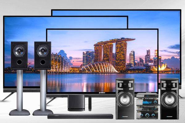 Televisions-HIFI-Audio-TV-Flat-curve-screens