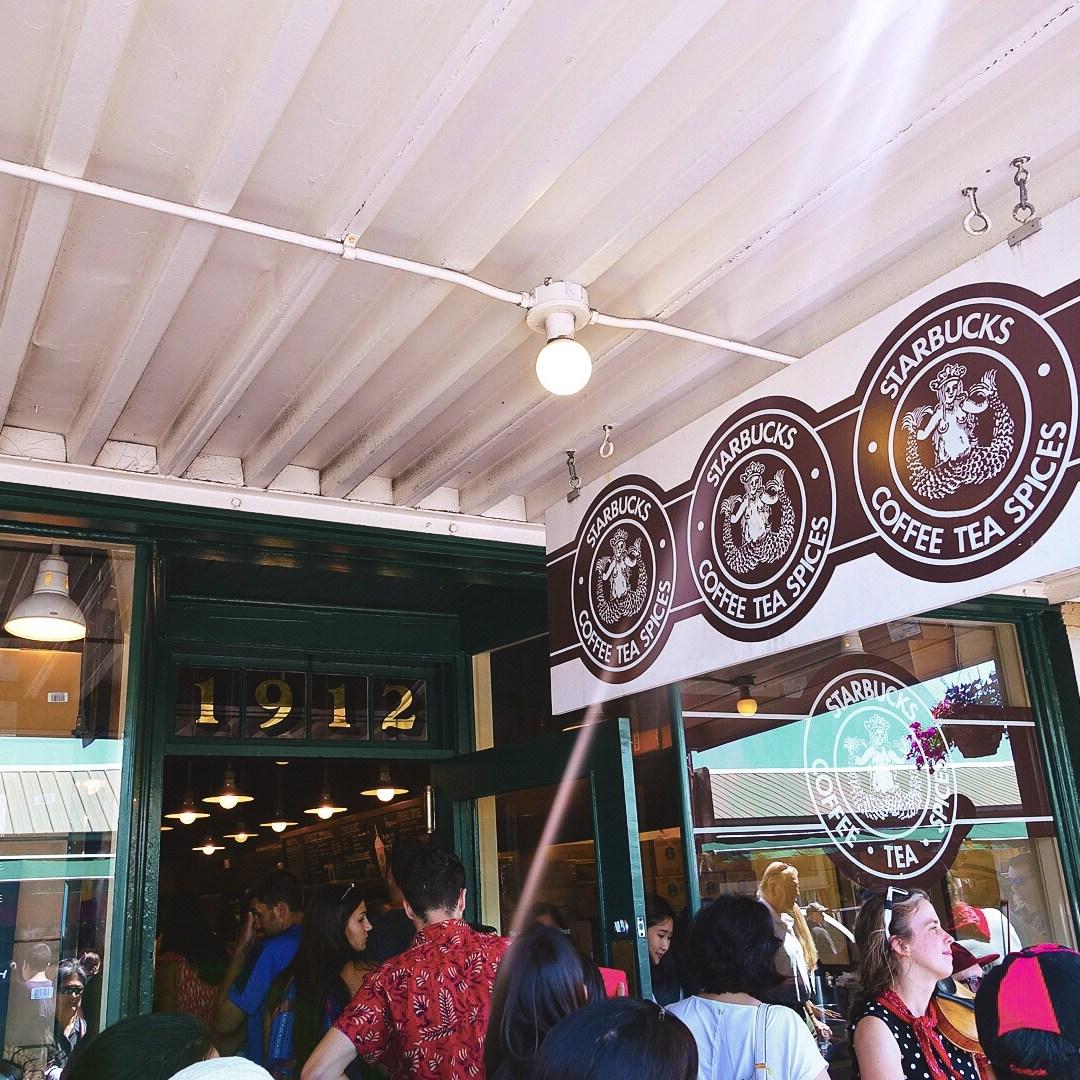 Pike Place Starbucks