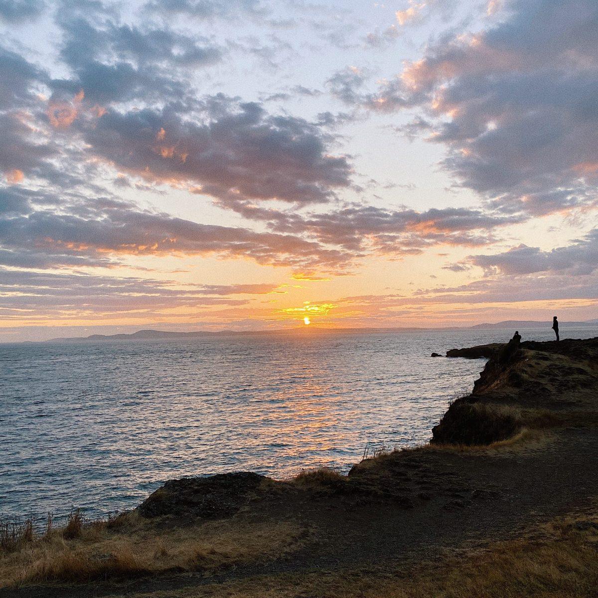 Sunset at Deception Pass State Park