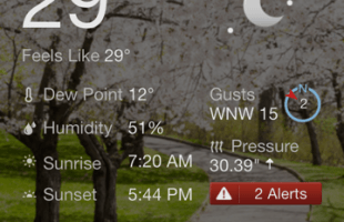 Holy cold weather!