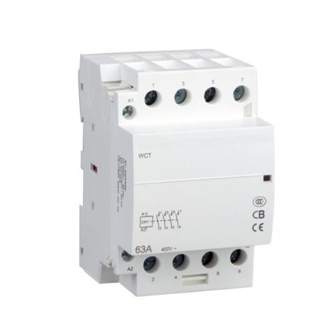 KELEVER Magnetic din rail WCT Series Household Modular Contactor