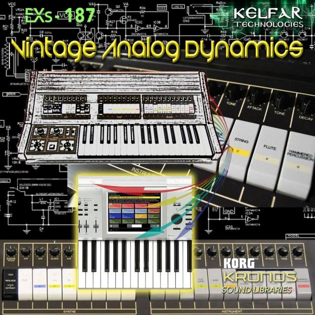 Large EXs 187 Vintage Analog Dynamics