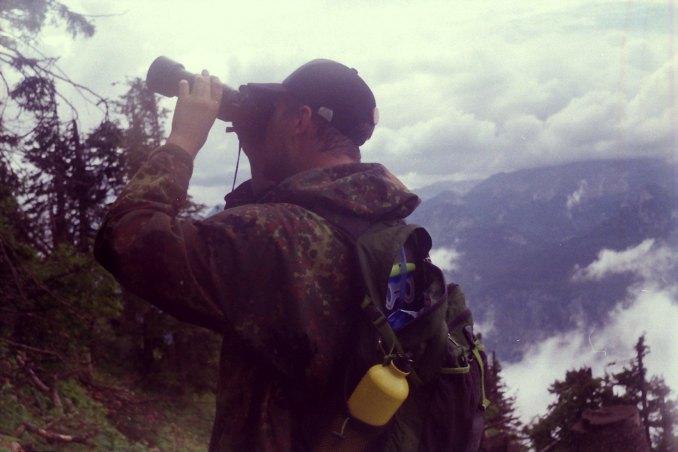 Visas dėmesys kalnų ožiui