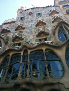 Barselona. Gaudi architektūra