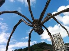 Bilbao. Louise Bourgeois skulptūra Maman