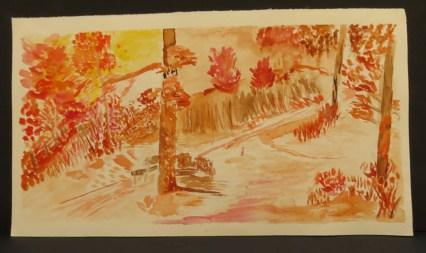 The Shortcut - Watercolor