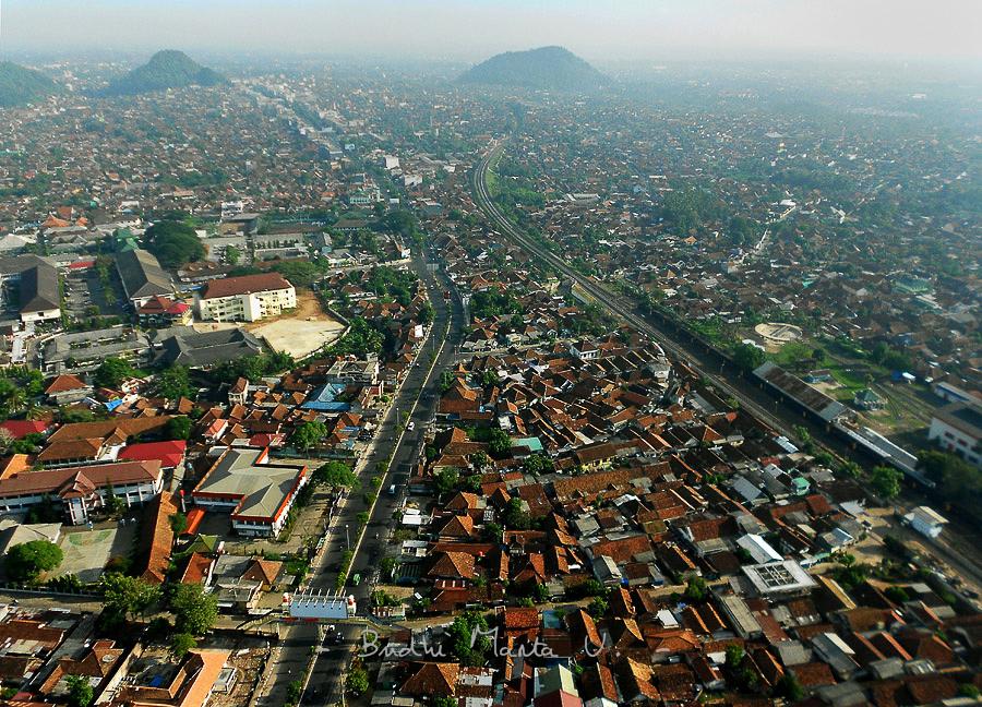 Kota Bandar Lampung Dilihat Dari Udara  Keliling Lampung