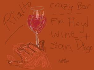 Kelise Franclemont, 'Rialto crazy bar', 2011, digital drawing.