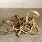 Richard Deacon, '...or lose it', 2006, steamed ash wood. Image courtesy invaluable.com