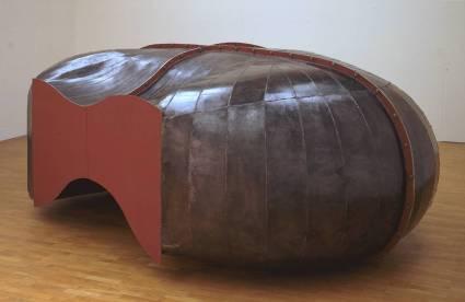 Richard Deacon, 'Struck Dumb', 1988, welded steel at Tate Britian, London. Image courtesy Tate.org.uk