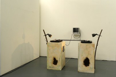 Patrick Rowan, 'The Present Inside the Past', 2014, in 'Assembly' at Chelsea College of Arts, London.