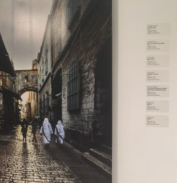 Khaled Salem, 'Old City' (detail), 2015, photographic prints, in 'Jerusalem/Home' at P21 Gallery, London. Image courtesy the artist and P21 Gallery. Photo credit Kelise Franclemont.