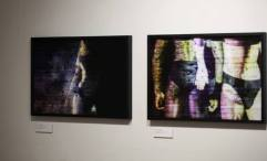 Francesca Oldfield, installation view, 2016, photography, in 'Skin&Blister' at Photofusion, Brixton, London. Image courtesy the Skin&Blister Facebook page.