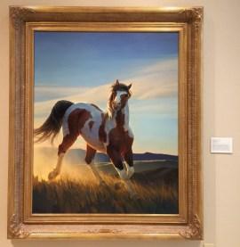 Nancy Glazier, 'Audacious', 2000, oil on canvas, at Booth Western Art Museum, Cartersville, GA. Photo credit Kelise Franclemont.