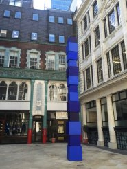 Jürgen Partenheimer, 'Axis Mundi', 2016, in Sculpture in the City 2016, London. Photo credit Kelise Franclemont.
