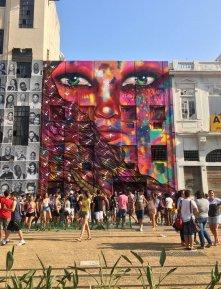 Artist unknown, 2016, at Praça Mauá port, Rio de Janeiro. Photo: Kelise Franclemont.