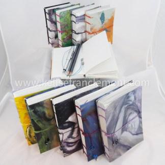handsewn journal/sketchbook