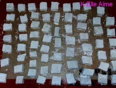 Guimauves à la vanille de Mercotte