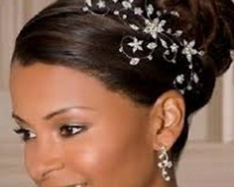 Chignon Mariage Afro