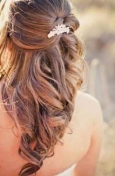 Coiffure Mariage Cheveux Longs Lachs Boucls