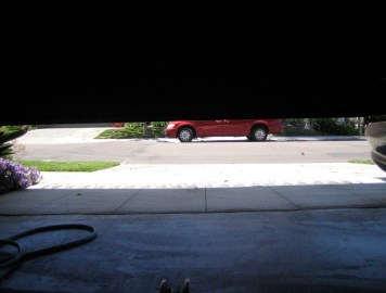View from the Garage