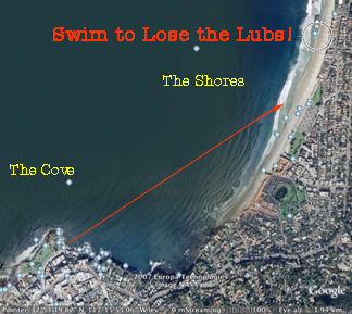Our Swimming Route