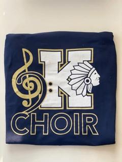 Choir Logo Tee Front