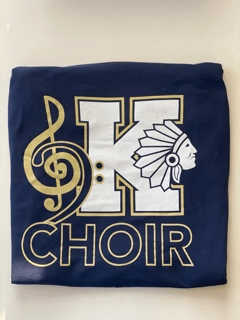 Choir Logo Tee Front