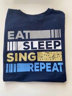 Eat Sleet Sing Tee Back