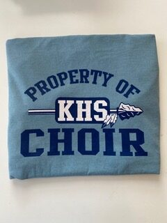 Property of KHS Choir Tee Front