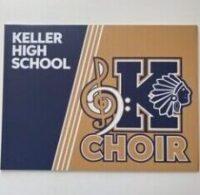 KHS Choir Yardsign