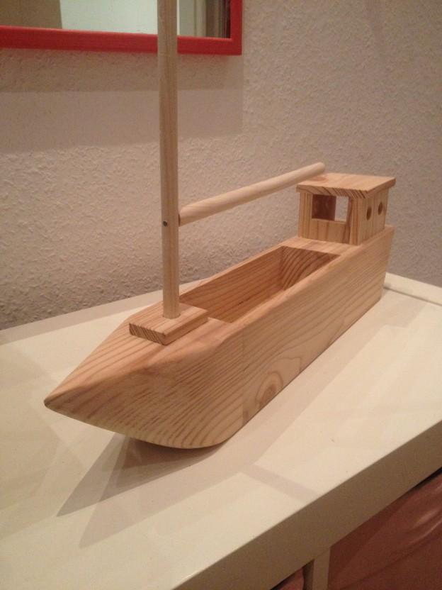 Schiff aus Restholz bauen  Der Kellerwerker