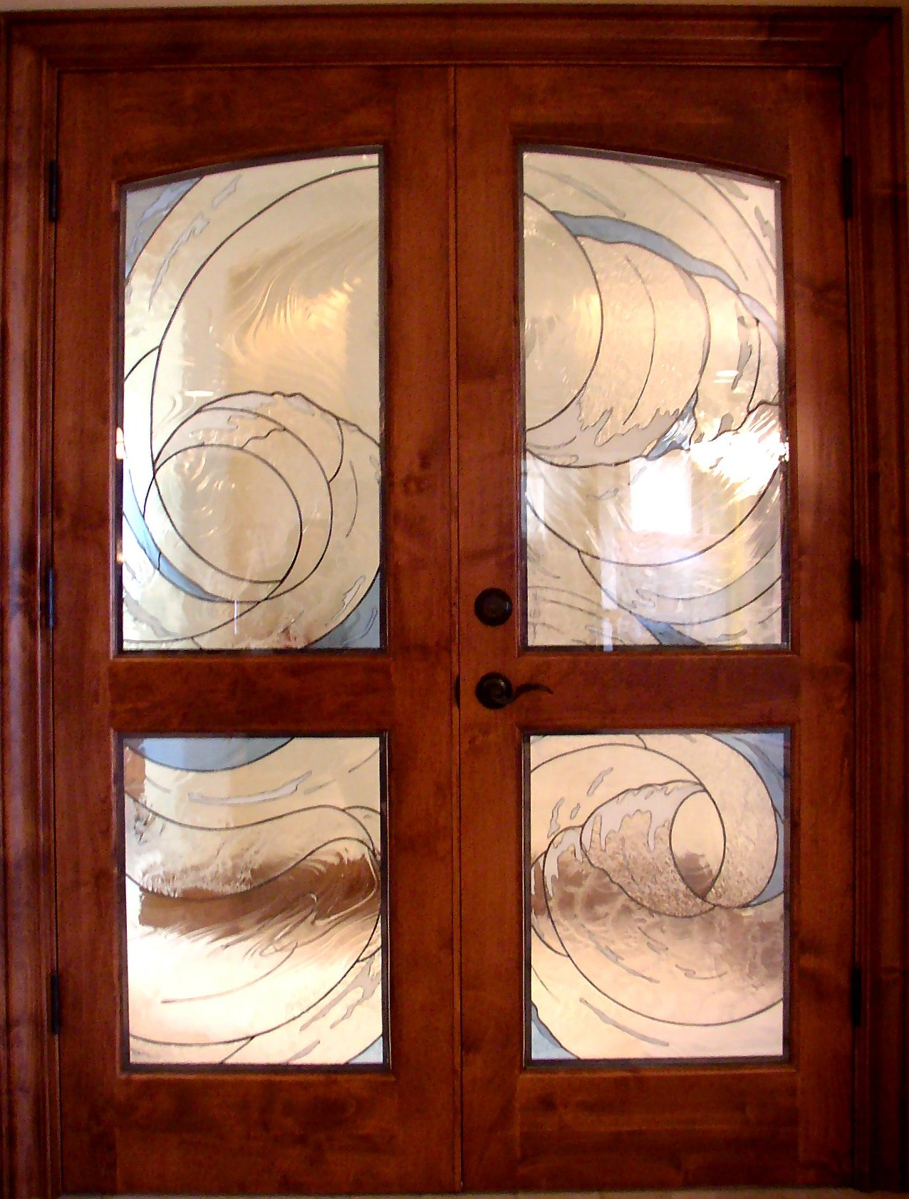 Kelley Studios Stained Glass Doors And Sidelights III
