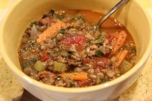 Lentil Soup with Sausage