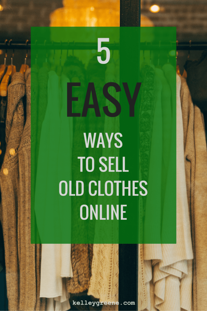 5 Easy Ways to Sell Old Clothes Online