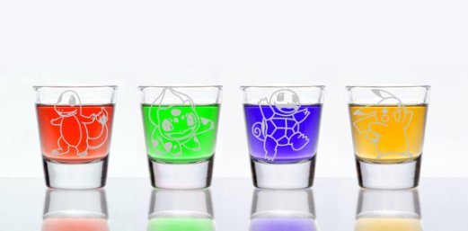 Pokemon Shotglass Etsy