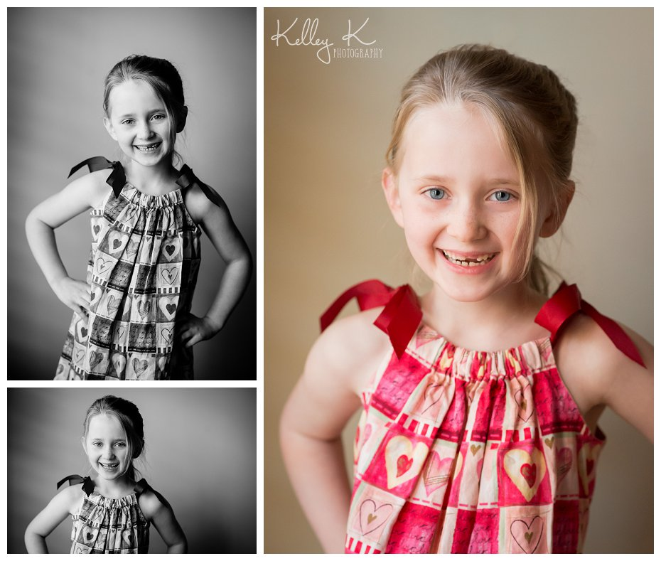Child's Valentine's portraits | Kelley K Photography - Smyrna