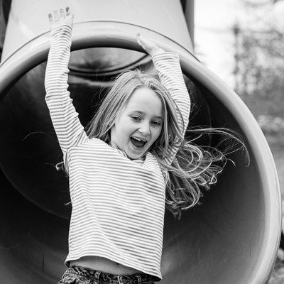 Fun on the Slide | Kelley K Photography