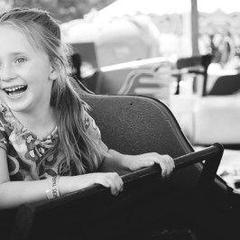 Girl on Carnival Ride | Kelley K Photography