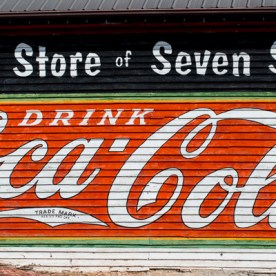 Coca Cola Sign in Powder Springs | Kelley K Photography
