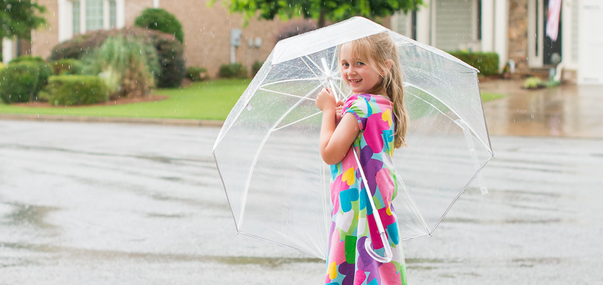 Girl with Umbrella | Kelley K Photography